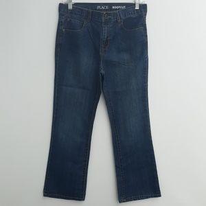 Boys 12 Huskey Place Bootcut Jeans.